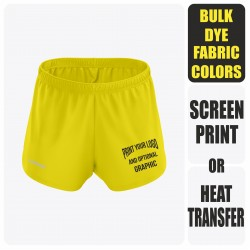 Running Shorts - Split - Semi Custom +