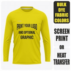 Men's Long Sleeve  T-Shirt - Semi Custom +