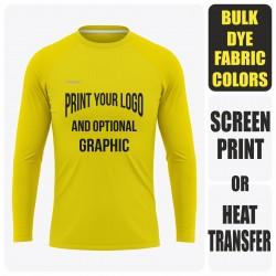 Men's Reglan Long Sleeve  T-Shirt - Semi Custom +