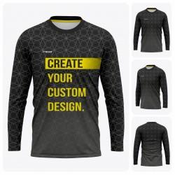 Men's Long Sleeve  T-Shirt - Full Custom Pro