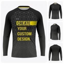 Men's Reglan Long Sleeve  T-Shirt - Full Custom Pro
