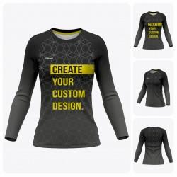 Woman Reglan Long Sleeve  T-Shirt - Full Custom Pro