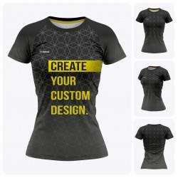 Woman Reglan Short Sleeve  T-Shirt - Full Custom Pro