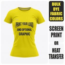 Woman Short Sleeve  T-Shirt - Semi Custom +