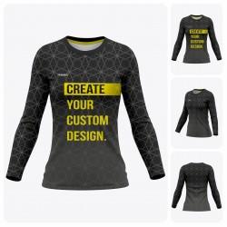 Woman Long Sleeve  T-Shirt - Full Custom Pro